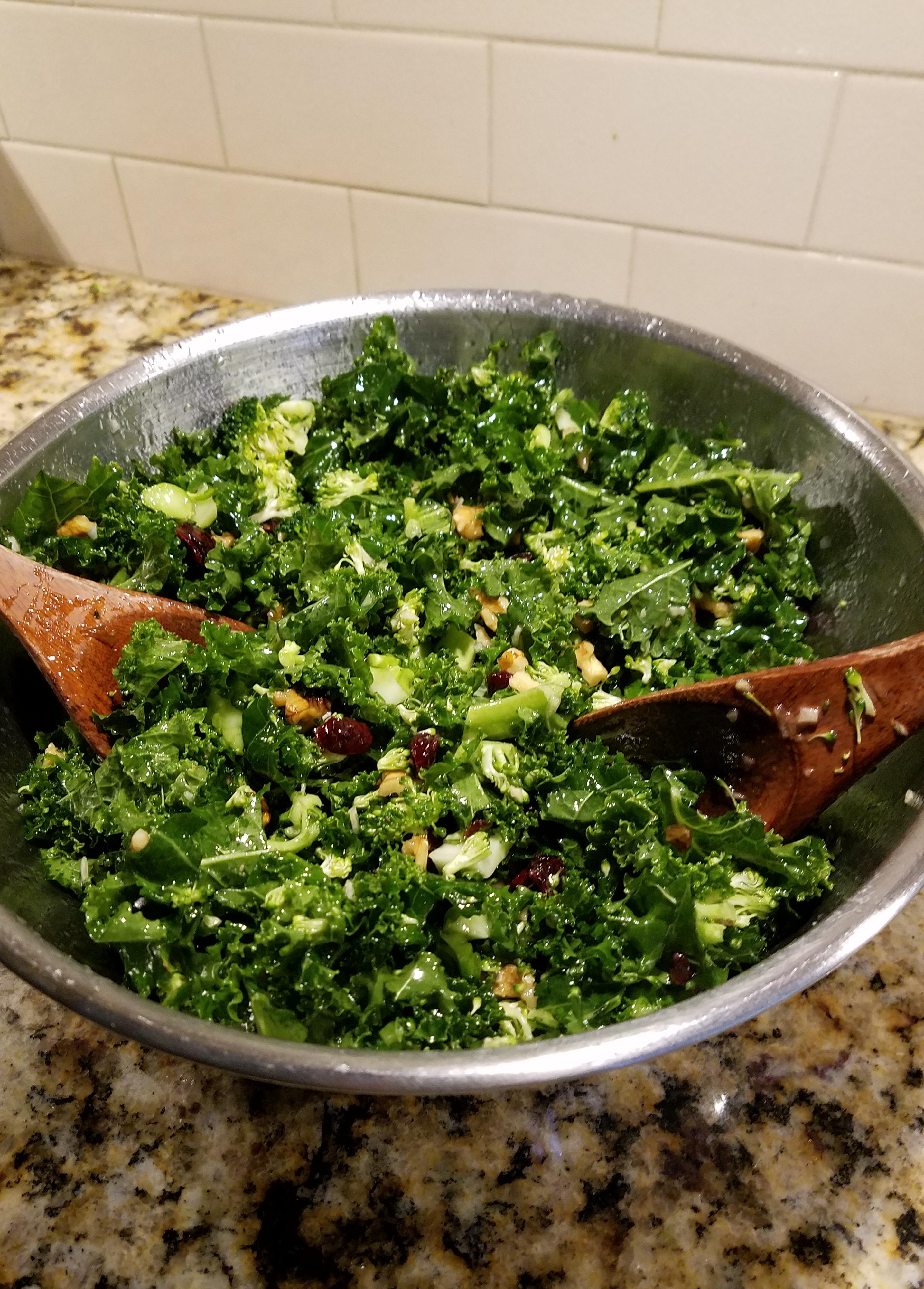 Super-Dupe Chick-fil-a Kale Salad, Light Version Dressing
