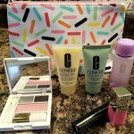 50 With Flair, Clinique Skincare Set Bonus Gift