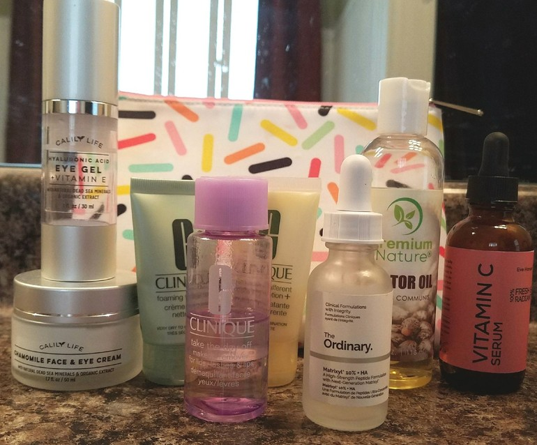 50 With Flair, Clinique Skincare Set Plus Serums