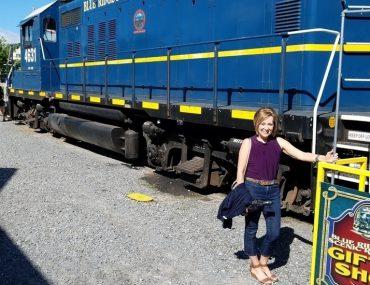50 With Flair, Over 50 Lifestyle & Fashion, Blue Ridge Scenic Railway,Travelling Blue Ridge, Georgia