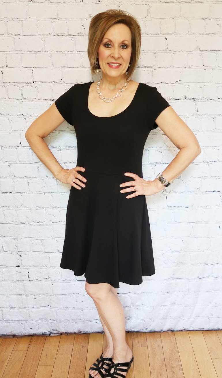 50 With Flair, Over 50 Fashion, Little Black Dress 7 Options