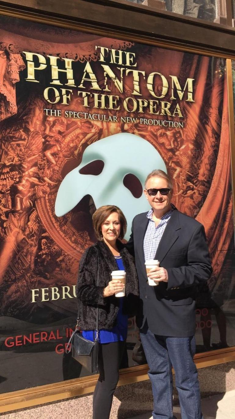 Atlanta, Phantom of the Opera, Having Fun, 50 with Flair