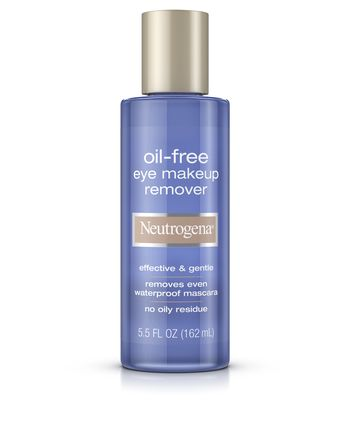 Neutrogena Oil-Free Eye Makeup Remover, 50 With Flair