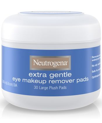 Neutrogena Extra Gentle Eye Makeup Remover Pads, 50 With Flair