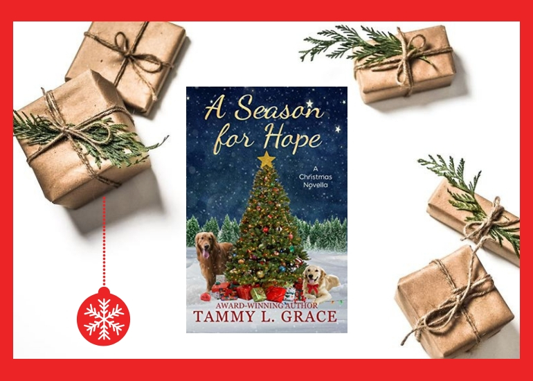 A Season for Hope, Tammy L. Grace, Amazon Books, Christmas Books, Christmas Novella