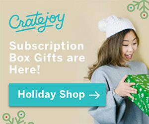 Cratejoy, Subscription Boxes, Christmas Gifts, Holiday Gifts, Subscription Box Gifts, 50 With Flair, Easy gifts