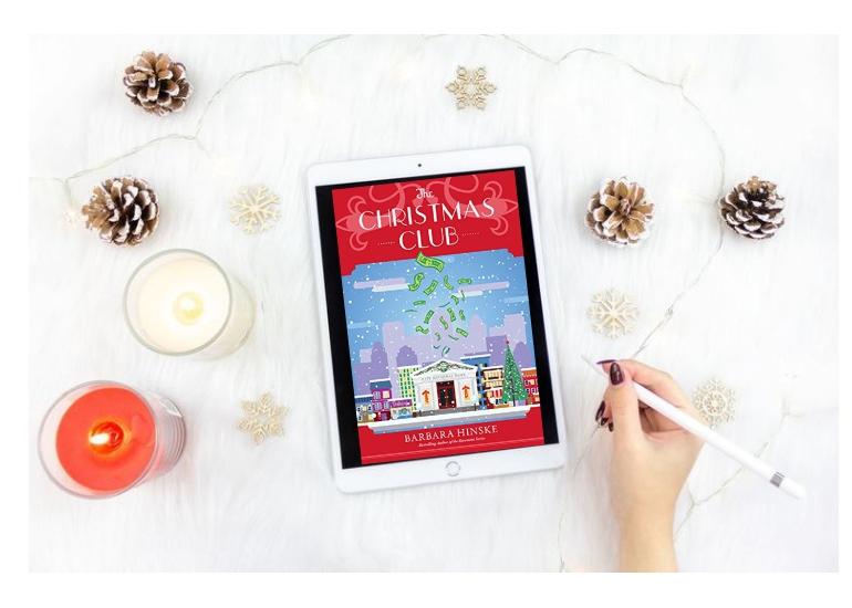 The Christmas Club, Barbara Hinske, Amazon Books, Christmas Books, Christmas Novella, Rosemont Book Club, Welcome to Rosemont