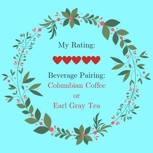 Book Review, Rating, Beverage Pairing