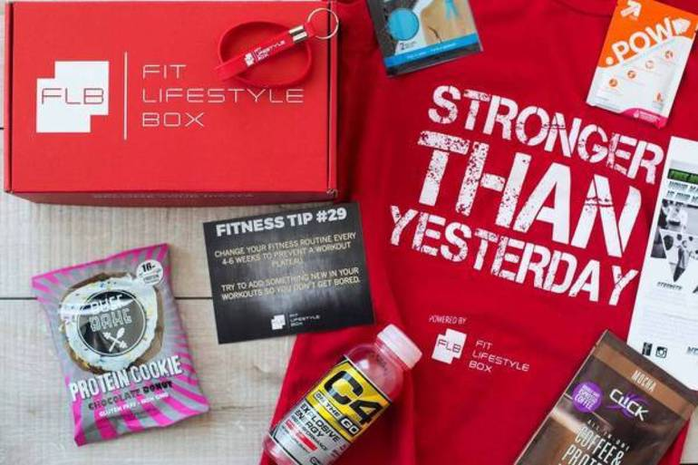 mens gifts, monthly fitness subscription, fitness enthusiast, workout gear, healthy gift, Cratejoy, 12 days of giving, 12 days of christmas, 50 with flair, subscription boxes, christmas gift, flash sale