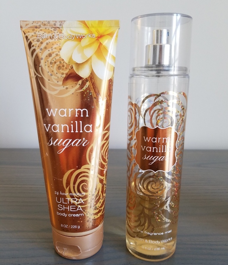 Bath and Body Works, Warm Vanilla Sugar, moisturizer, body cream, scented body cream, vanilla body spray, vanilla perfume, vanilla fragrance, signature vanilla fragrance, body care