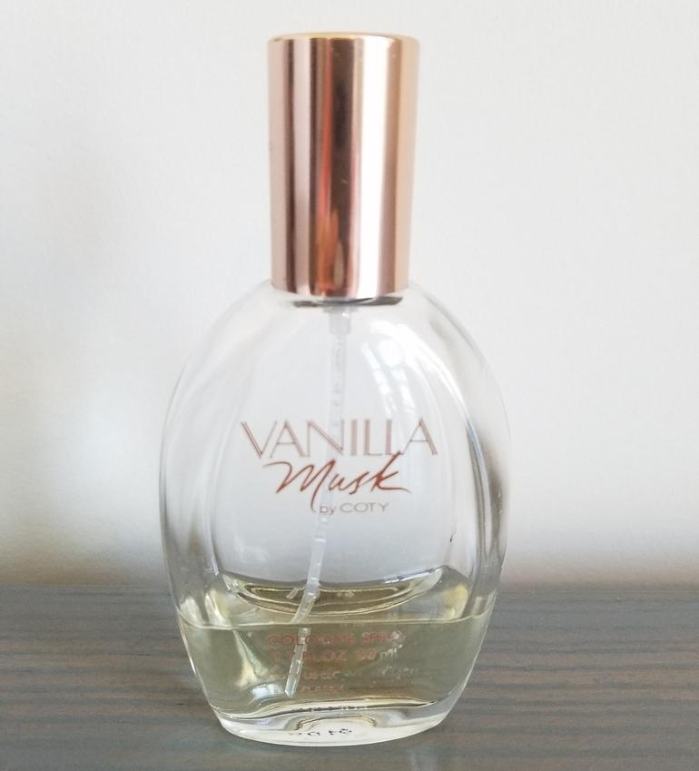 Vanilla Musk, Vanilla musk by Coty, Coty perfume, musk fragrance, musk perfume, vanilla fragrance, signature vanilla fragrance